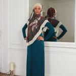 Robe Mirage Vert Canard - Misstoura