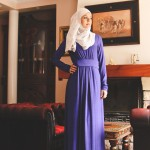 Robe Célia Bleu Electrique - Misstoura