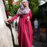 Abaya Anastasia Bordeaux - Misstoura