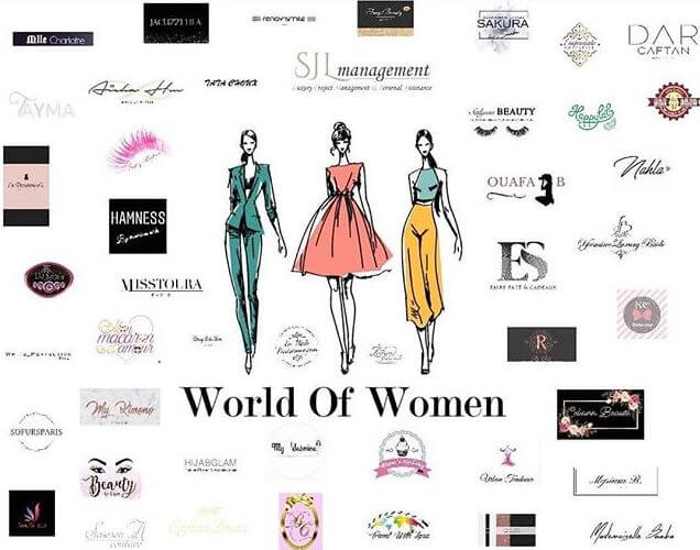 Les exposant au salon World of Women