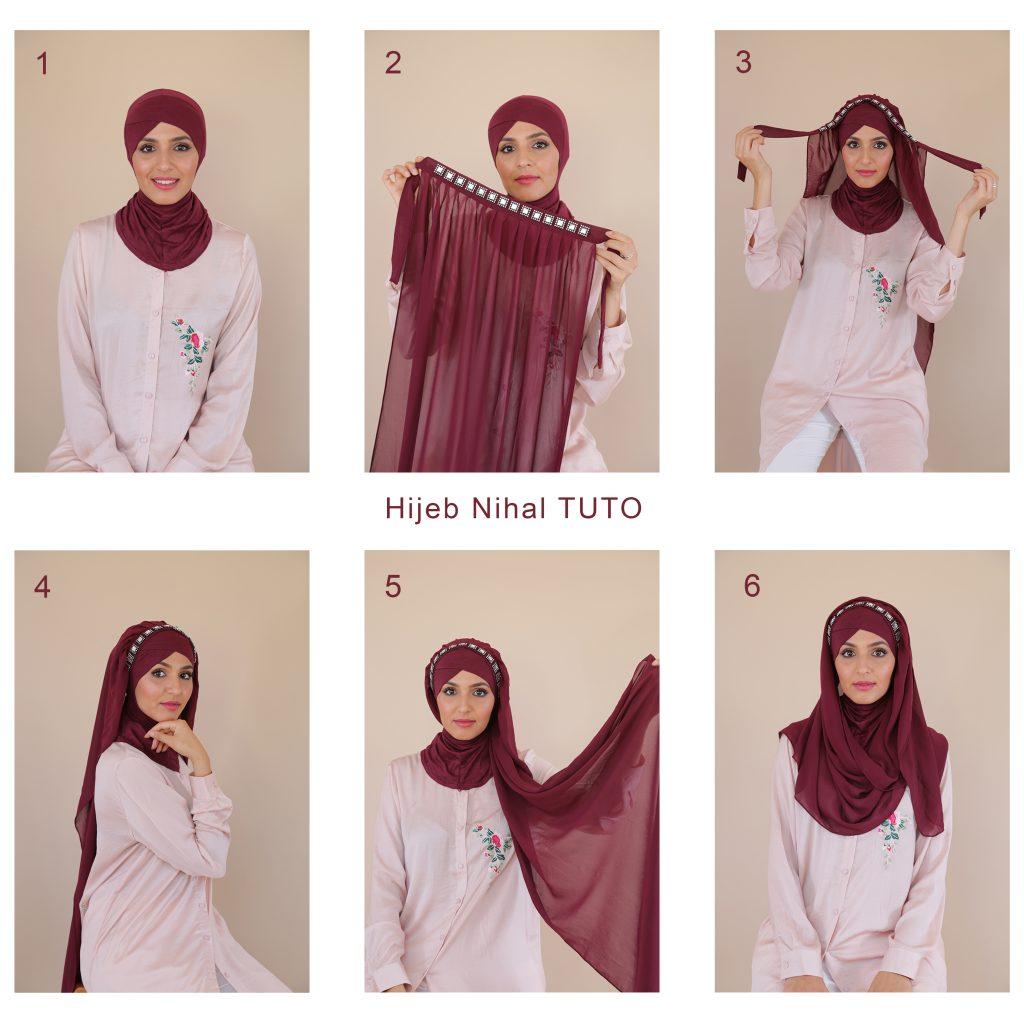 comment mettre un hijab