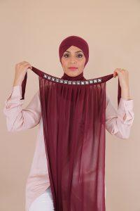 hijab femme musulmane